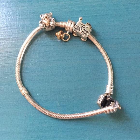 fedc3ab79 Pandora Jewelry   Bracelet   Poshmark
